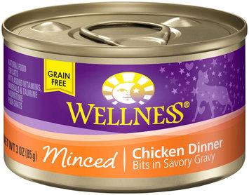 Wellpet Llc Wellness Can Cat Minced Chicken 3 oz Case 24