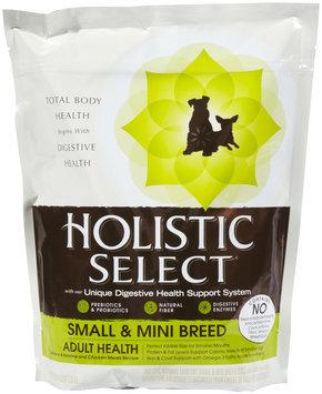 Holistic Select Small & Mini Breed Adult Health - 3 lb
