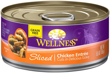 Wellpet Llc Wellness Canned Cuts Sliced Chicken Entree Canned Cat Food