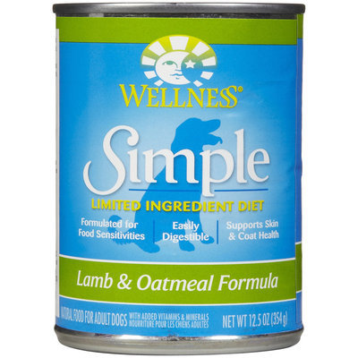 Phillips Feed & Pet Supply Wellness Simple Lamb & Oatmeal Formula Canned Dog Food