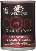 Wellness CORE Beef/Venison/Lamb Can Dog Food 12 Pk