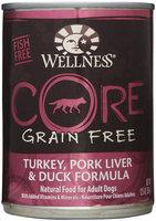 Wellness CORE Turkey/Pork Liver/Duck Can Dog Food