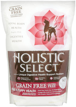 Holistic Select Grain Free Adult & Puppy Health Salmon, Anchovy & Sardine Meal