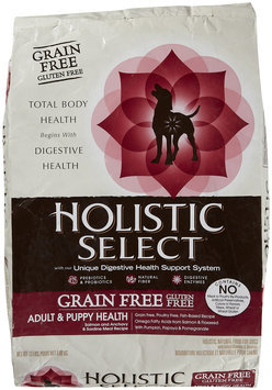 Holistic Select Grain Free Salmon Dog Food 13lb