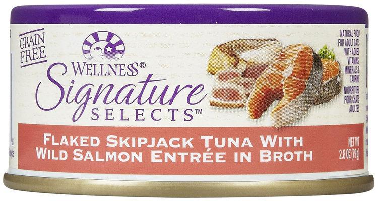 Wellness Signature Selects Flaked Tuna & Wild Salmon