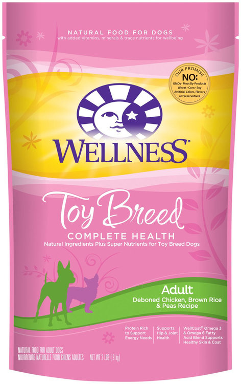 Wellness Complete Health Toy Breed Adult Dog Food Reviews
