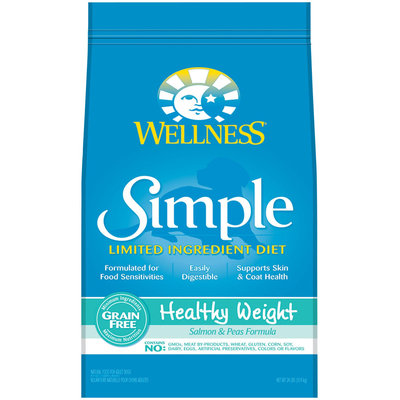Wellness Simple Healthy Weight Salmon & Peas Formula