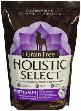 Holistic Select Grain Free Adult Health Deboned Turkey & Lentils