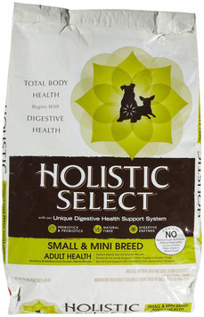 Holistic Select Small & Mini Breed Adult Health Anchovy & Sardine and Chicken Meals Recipe