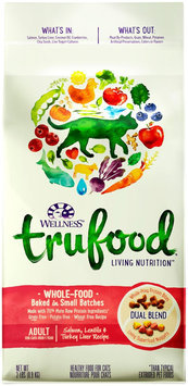Wellness TruFood Baked Blends Natural Grain Free Dry Cat Food - Salmon, Lentils and Turkey Liver.
