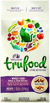 Wellness TruFood Baked Blends Natural Grain Free Dry Indoor Cat Food - Chicken, Chickpeas & Chick.