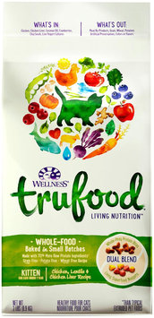 Wellness TruFood Baked Blends Natural Grain Free Dry Kitten Food - Chicken, Lentils and Chicken L.
