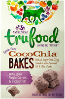 Wellness TruFood CocoChia Bakes Grain Free Dog Treats - Lamb, Purple Carrot & Coconut Oil