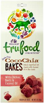 Wellness TruFood CocoChia Bakes Natural Grain Free Cat Treats - Chicken, Beets & Coconut Oil
