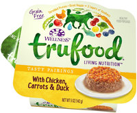Wellness TruFood Tasty Pairings Natural Grain Free Wet Dog Food - Chicken, Carrots and Duck Recipe