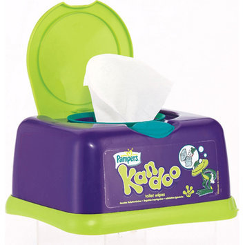 Pampers Kandoo Flushable Wipes With Pop Top Dispenser
