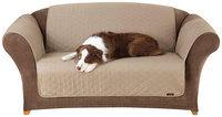 Sure Fit Cotton Duck Sofa Pet Cover