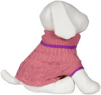 Fashion Pet Lookin' Good! Classic Cable Sweater - Pink