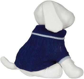 Ethical Pet Products Fashion Pet Ethical DFH8CBXL Classic Sweater Xl-Cobalt Blue