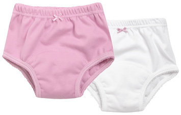 JoJo Maman Bebe 2 Pack Training Pants (Toddler/Kid)-Pink