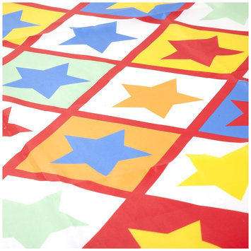 JoJo Maman Bebe Star Print Floor Splash Mat - Star - 1 ct.