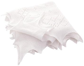 JoJo Maman Bebe Traditional Receiving Blanket- White - 1 ct.