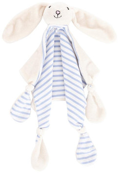JoJo Maman Bebe Rabbit Lovie- Blue - 1 ct.