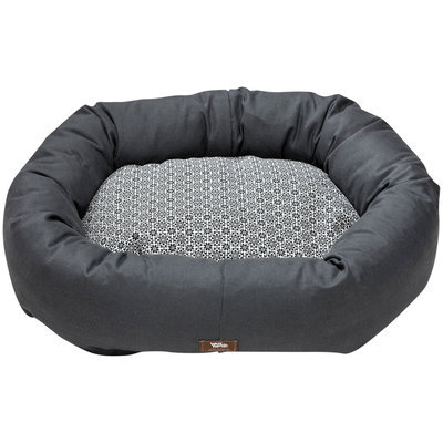 West Paw Design West Paw Hemp Bumper Dog Bed Coal XL