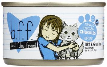 Best Feline Friend Tuna/Chicken Chuckles Tray 3 oz trays - 12 pack