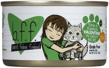 Best Feline Friend - Tuna and Pumpkin Valentine Canned Cat Food 3 oz cans / case of 12