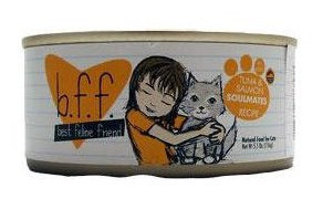Best Feline Friend BFF Canned Cat Tuna & Shrimp Sweethearts 3 oz Case 12
