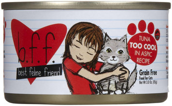 Best Feline Friend Tuna Too Cool Tray 3 oz trays - 12 pack