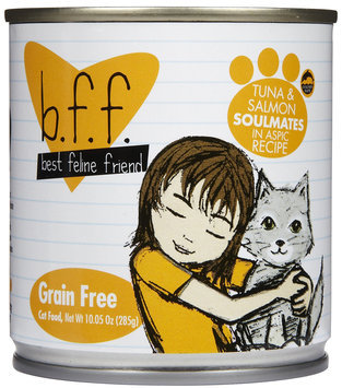 Best Feline Friend Weruva Tuna & Salmon Soulmates - 12x10 oz