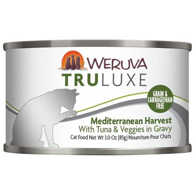 Weruva Truluxe Mediterranean Harvest 3 oz Case 24 Cat Food