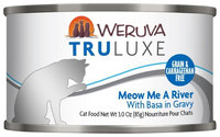 Weruva Truluxe Meow Me A River 3 oz Case 24 Canned Cat Food