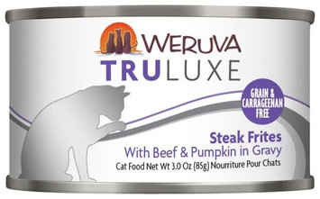 Weruva Truluxe Steak Frites 3 oz Single Canned Cat Food