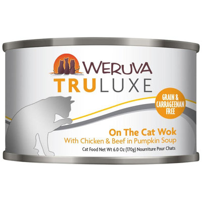 Weruva Truluxe On The Cat Wok 6 oz Case 24 Canned Cat Food