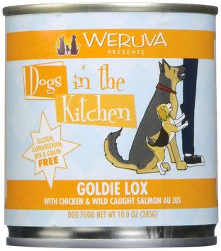 Weruva Dogs In The Kitchen Goldie Lox - Chicken & Wild Caught Salmon Au Jus - 10 oz
