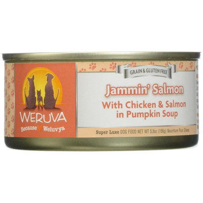 Weruva International WU00439 Dog Jammins Salmon 24 - 5.5 Oz.