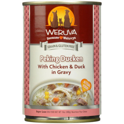 Weruva International WU00453 Dog Peking Duck 12 - 14 Oz.