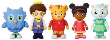 Daniel Tigers Neighborhood Daniel Tiger's Neighborhood Friends Figures Set - 1 ct.
