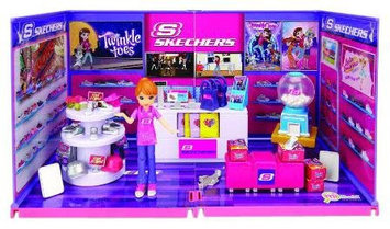 miWorld Deluxe Skechers with Doll Environment Set