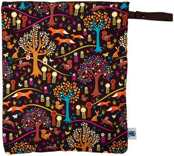 Planet Wise Wet Bag Large - Jewel Woods - 1 ct.