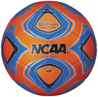 Wilson NCAA Copia Due Replica Ball, Neon Orange - Size 3