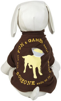 Dog Is Good DogIsGood Cone Tee - Brown, X-Small