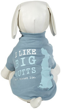 Dog Is Good DogIsGood Big Mutts Tee - Blue, X-Large