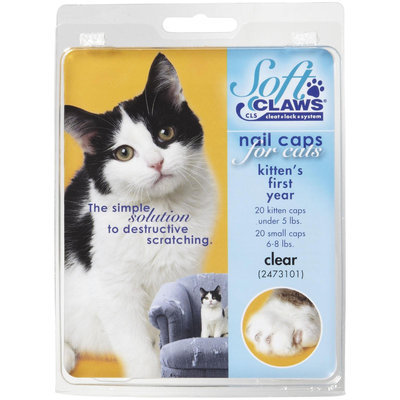 Soft Claws Feline Soft Claw Nail Caps - Clear