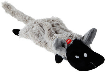 Pet Edge Dealer Services Zanies Barnyard Unstuffies Dog Toy LG Sheep