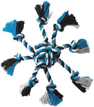 Petedge ZW4499 19 Zanies Crazy Eight Rope Toy Blue