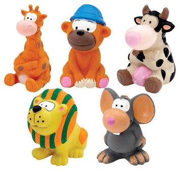 Pet Pals ZA506 15 Zanies Latex Toy Prepack Med 5 Pieces